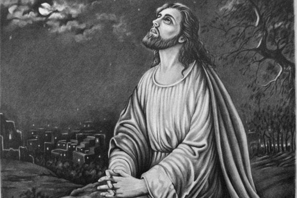 jesus-praying-at-gathsemane
