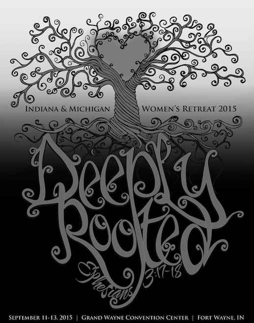 Deeply Rooted B&W